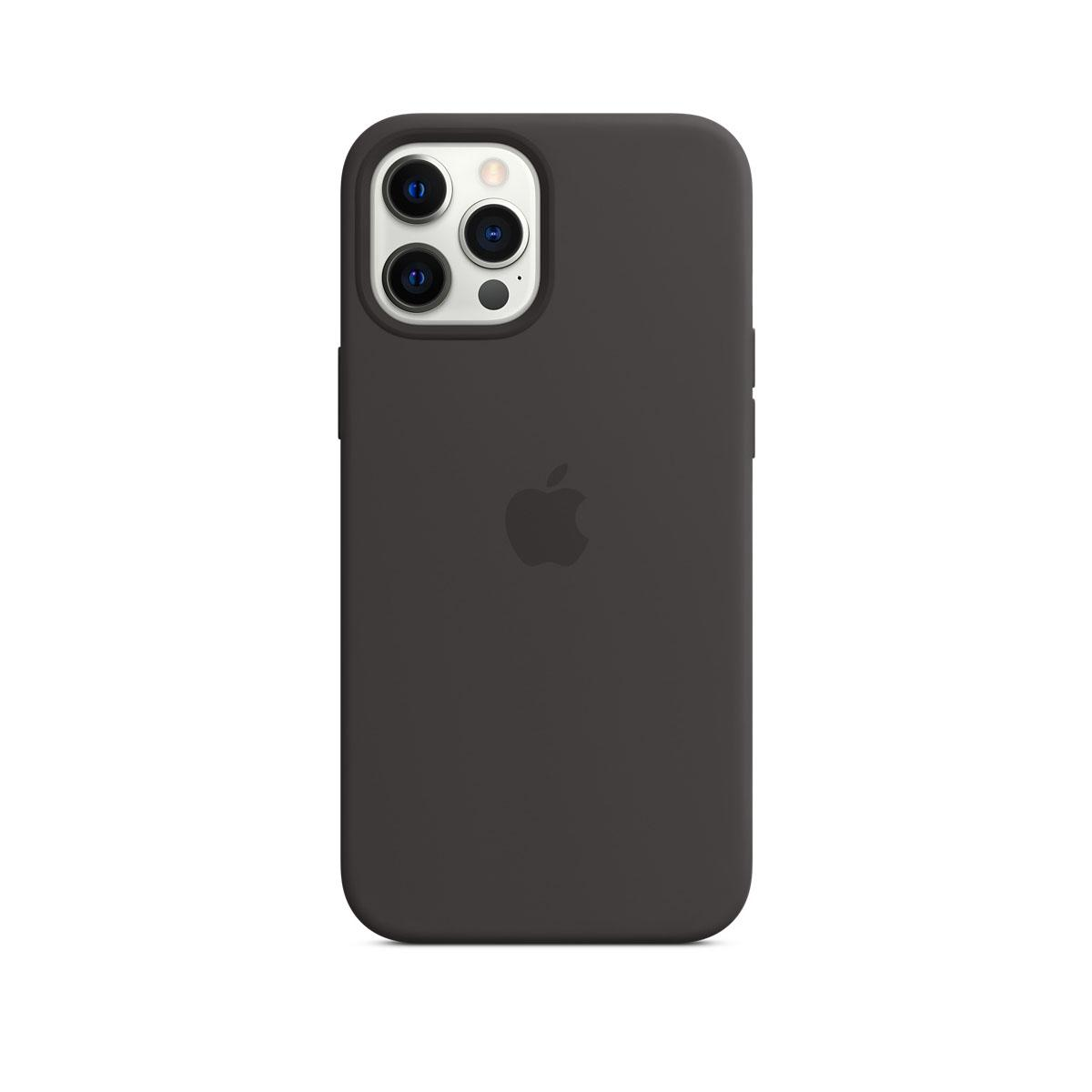 iPhone 12 Pro Max Magsafe Silicone Case Black