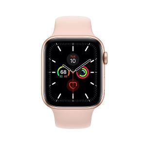 APPLE WATCH SERIES 5 GPS 44MM GOLD/PINK SP BAND