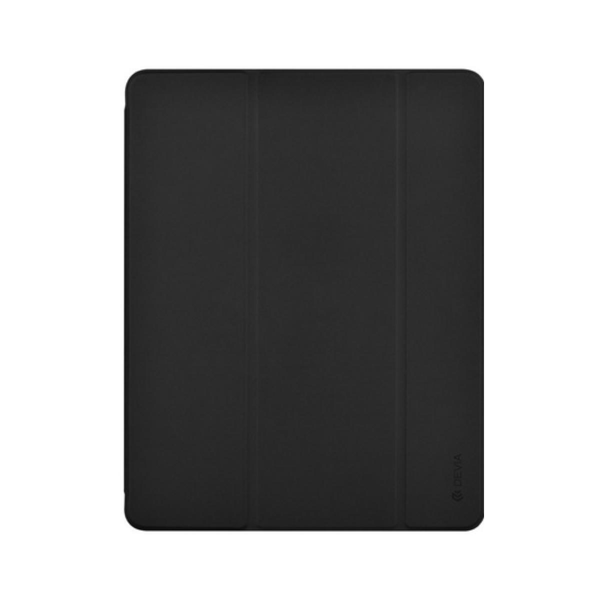 Devia Leather Slot Case with Pencil for iPad 11 - Black
