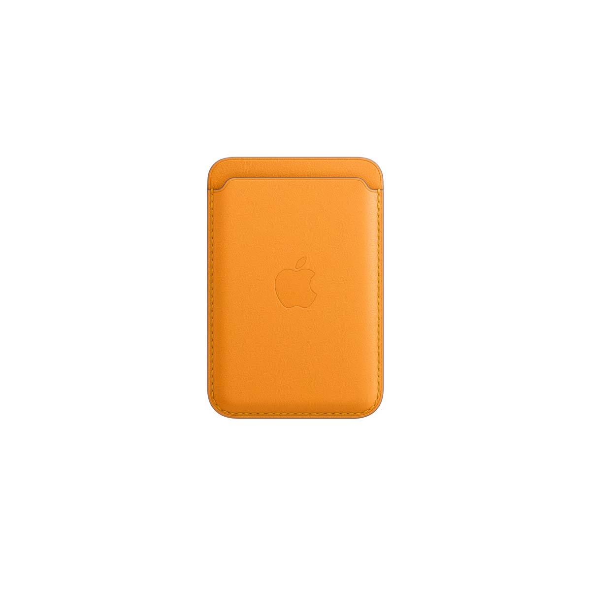 iPhone Leather Wallet California Poppy