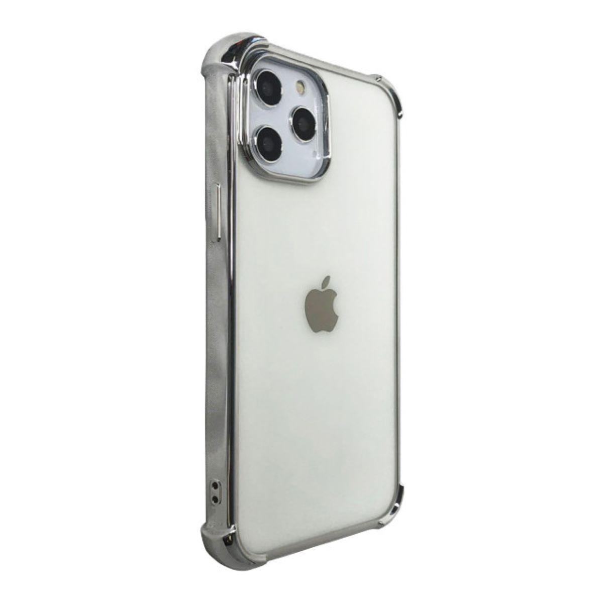 Devia Glitter Shockproof Soft Case for iPhone 12 Pro Max - Silver