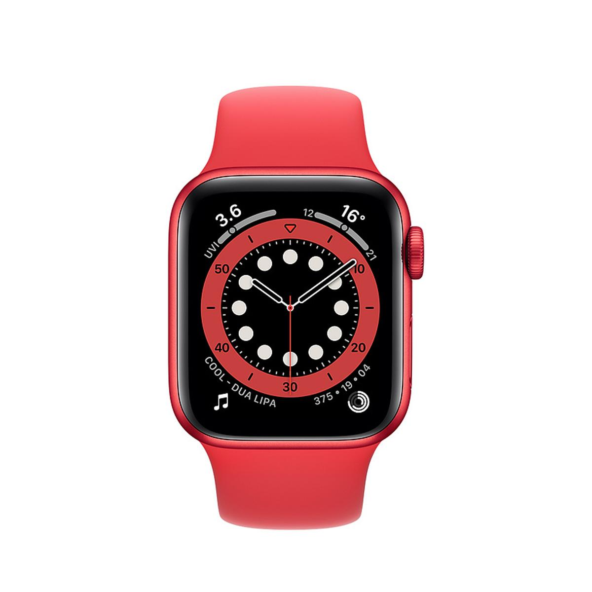 Apple Watch Series 6 GPS 40mm Sports Band - Red