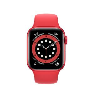 APPLE WATCH SERIES 6 GPS 40MM RED SP BAND