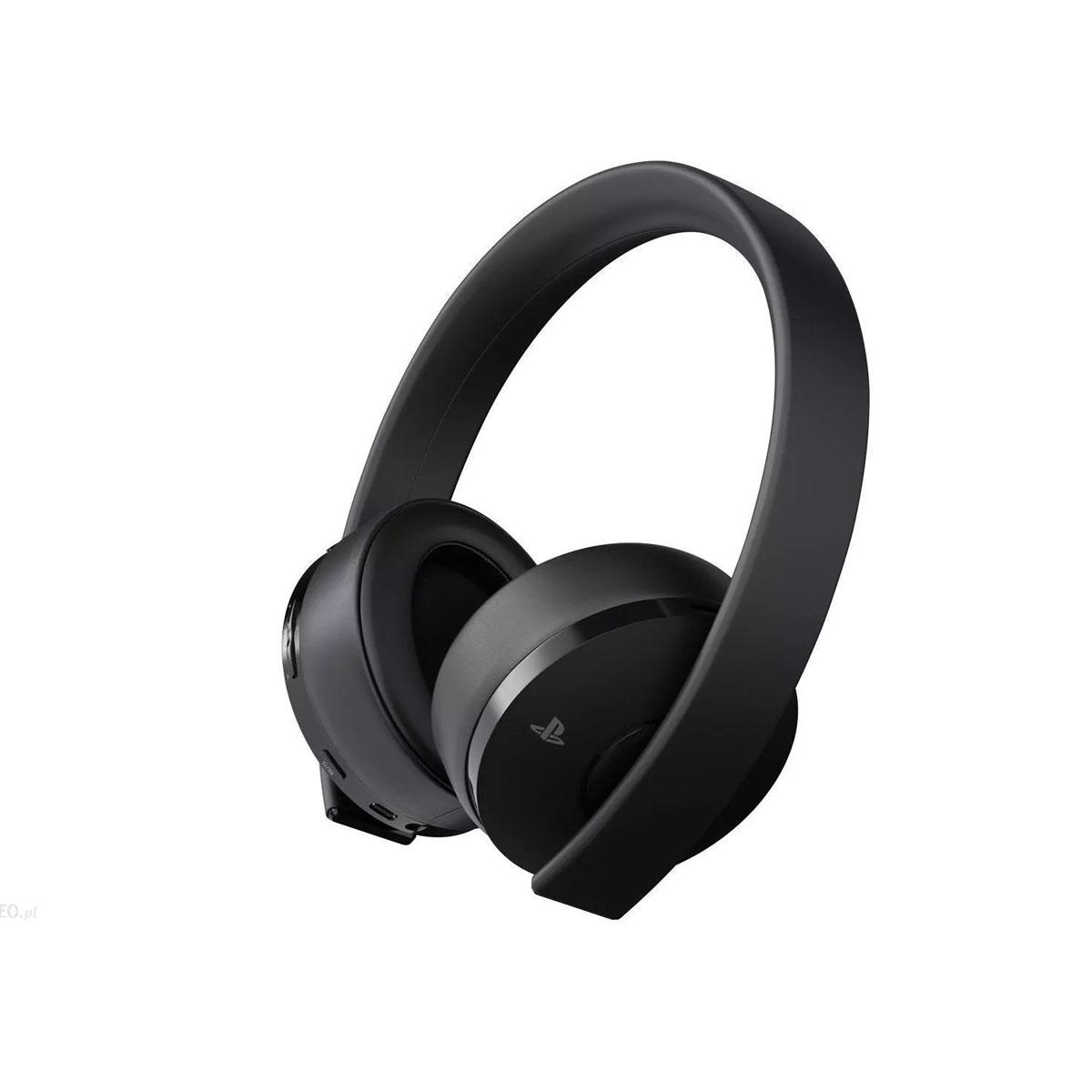 Sony PlayStation 4 Gold Wireless Stereo Headset - Black