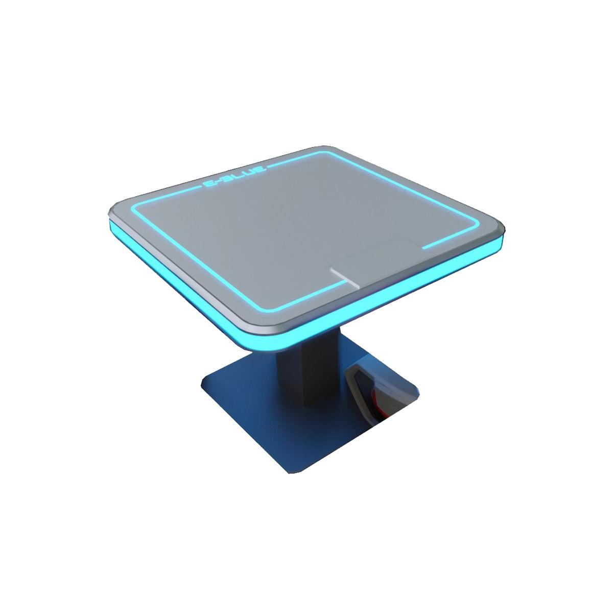E-Blue RGB Gaming Cards Table
