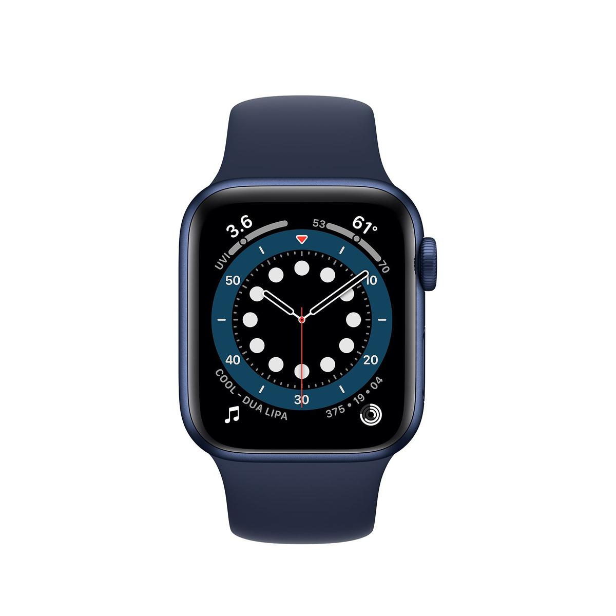 Apple Watch Series 6 GPS 40mm Sports Band - Blue Navy