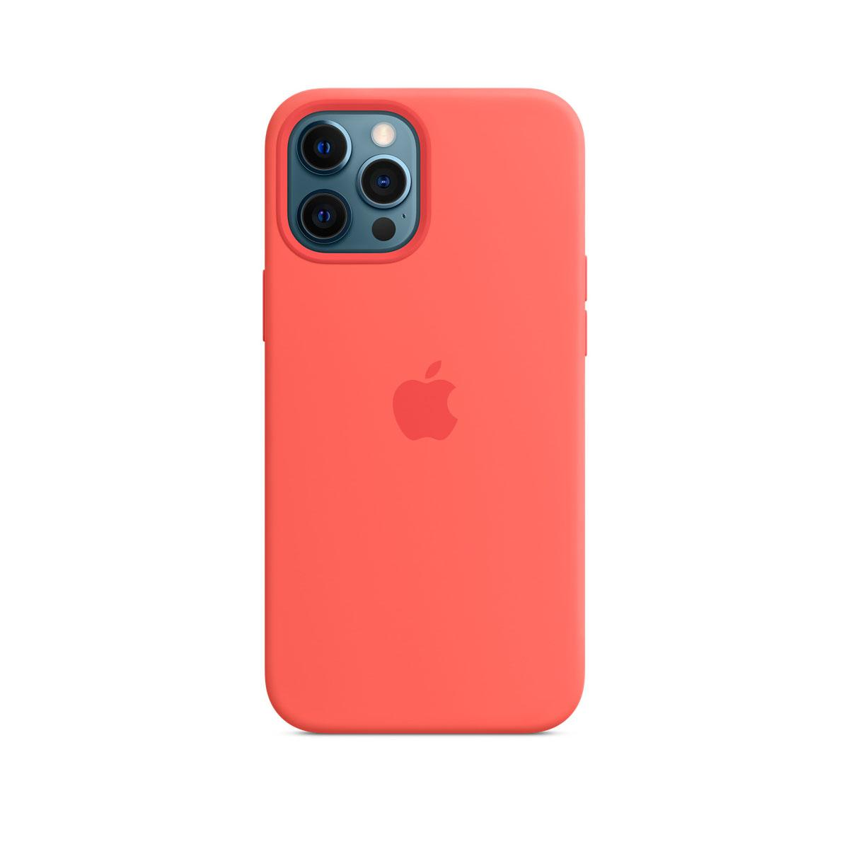 iPhone 12 Pro Max Magsafe Silicone Case - Pink