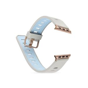 WATCH BAND 42MM-DEVIA TWO-TONE SERIES