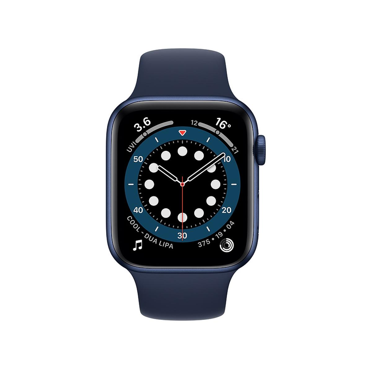 Apple Watch Series 6 GPS 44mm Sports Band - Blue