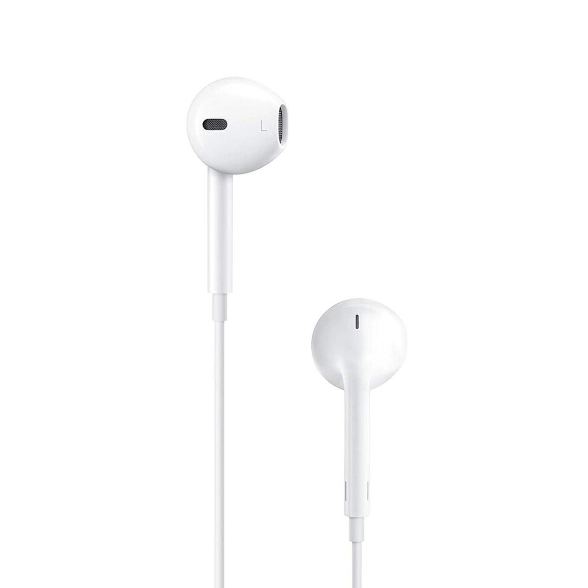 Devia Smart Earpods With Remote And Mic - White