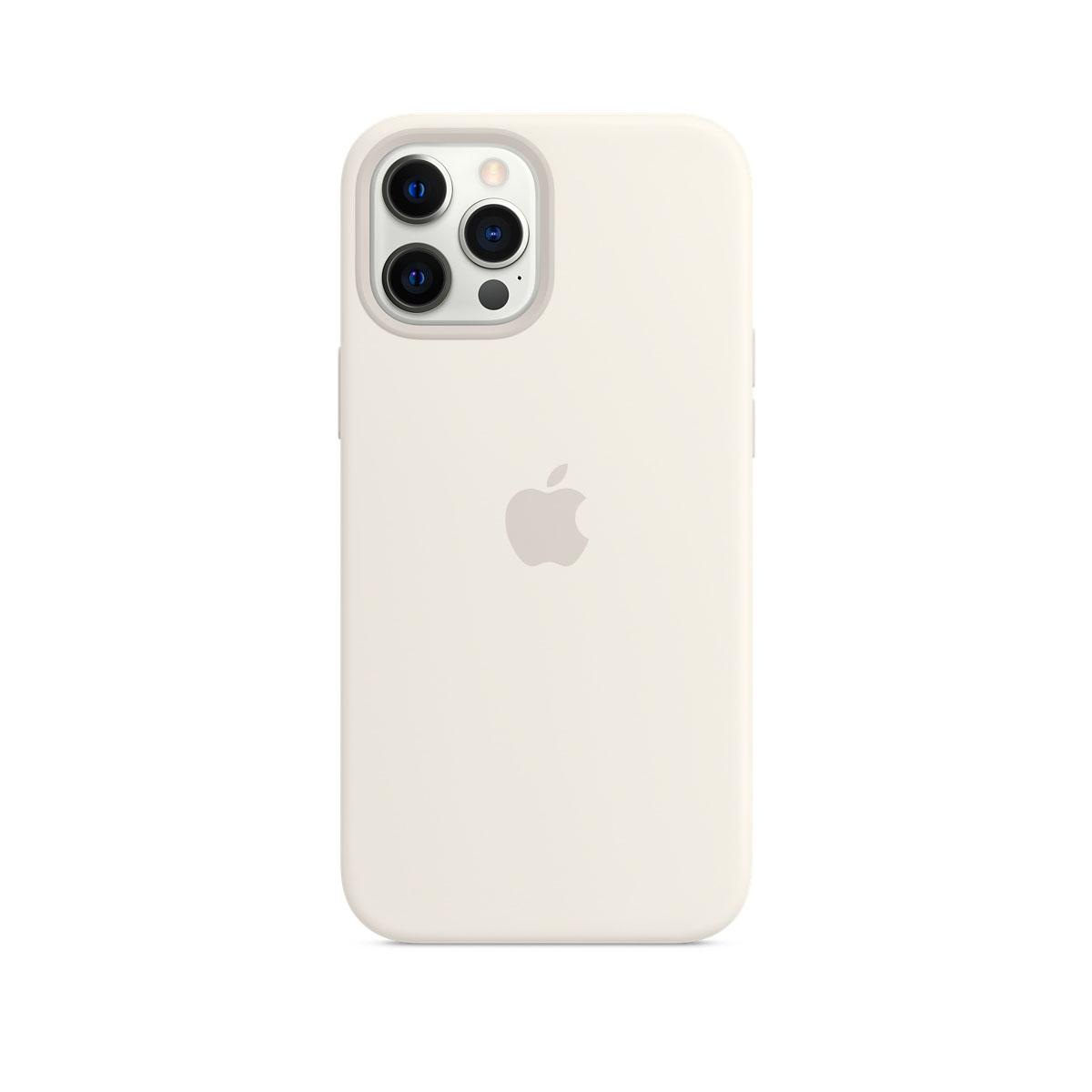 Apple iPhone 12 Pro Max Magsafe Silicone Case White+D344D292:D368