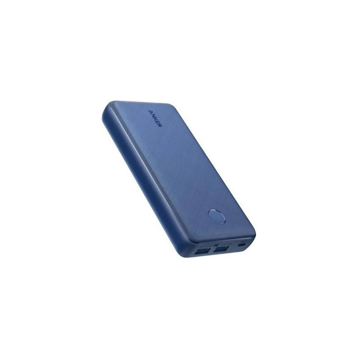Anker Power Bank 20,000mAh with 2 USB-A PowerCore Select 20K Blue