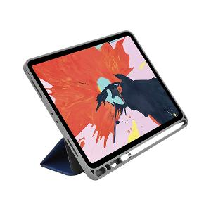 CASE WITH PENCIL FOR APPLE IPAD 10.2-BLUE DEVIA