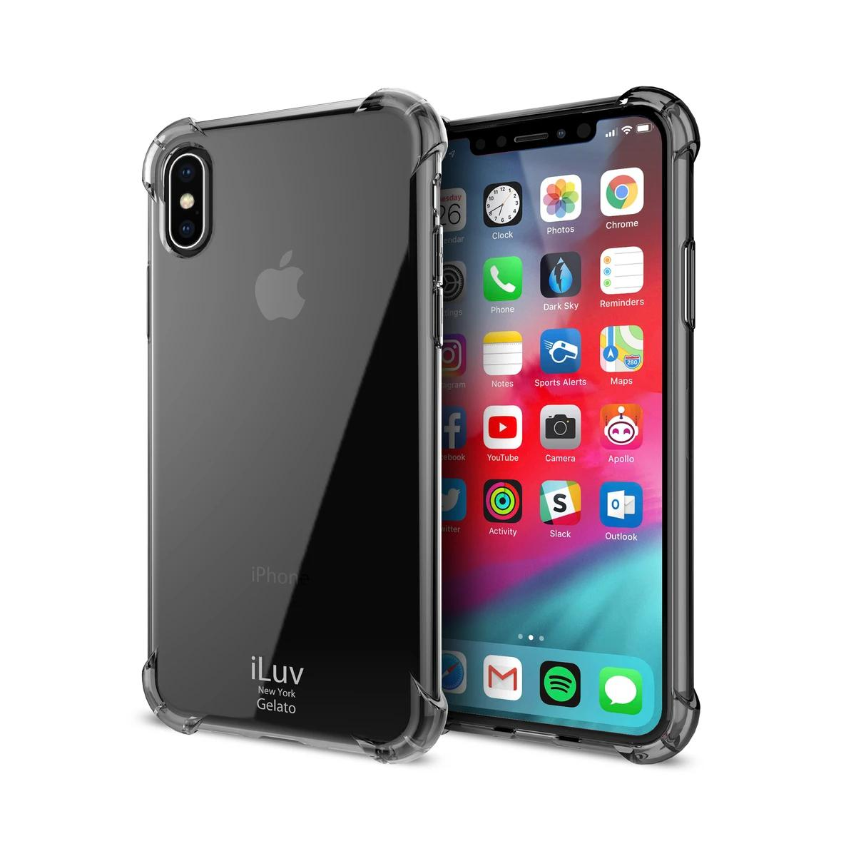 iLuv Soft Back Cover Case for iPhone X