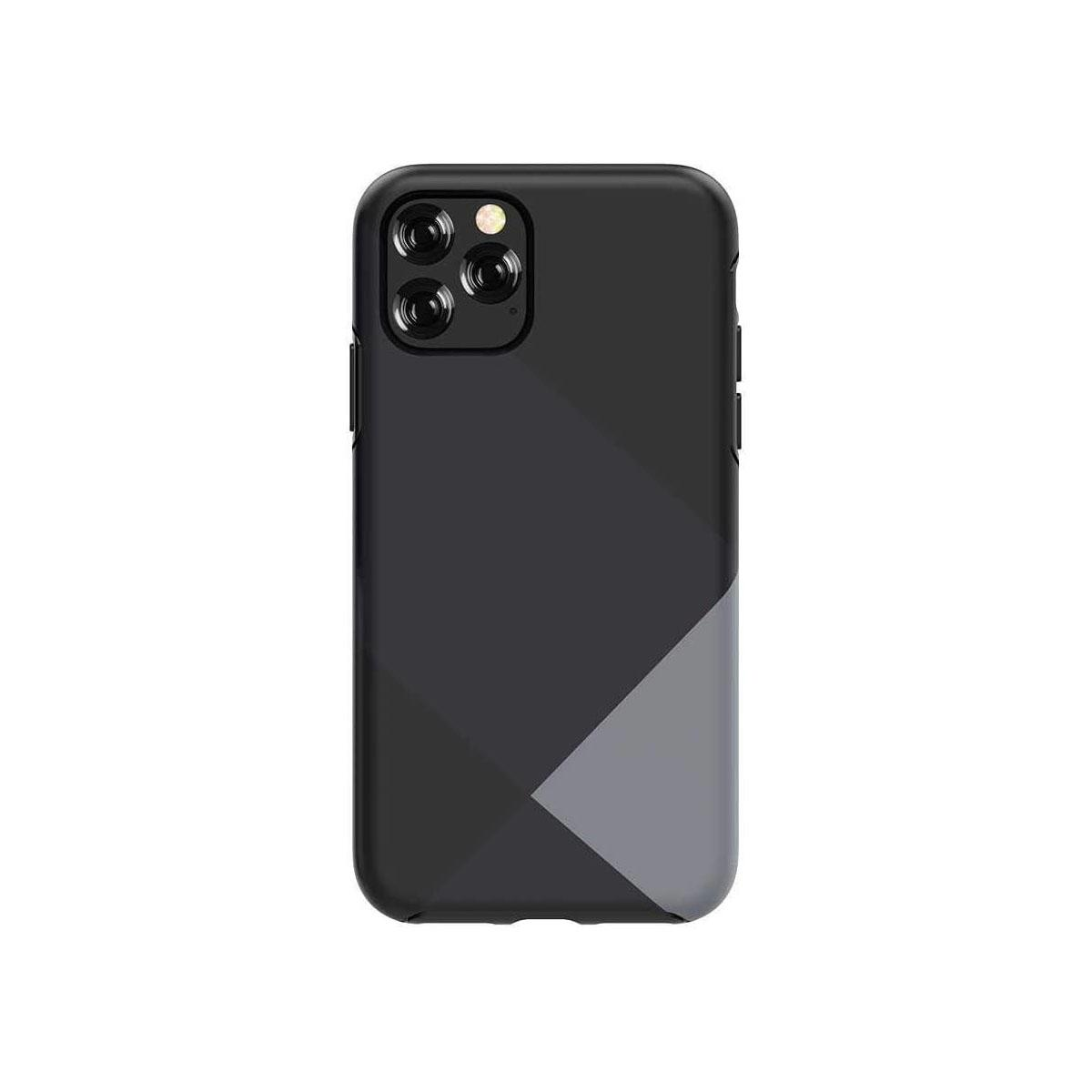 Devia Simple Style Grid Case for iPhone 11 - Gray