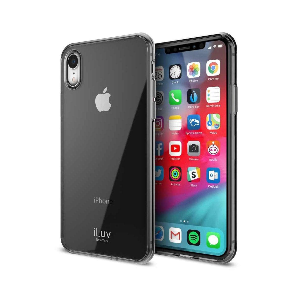 iLuv Vyneer Back Cover Case for iPhone X - Black