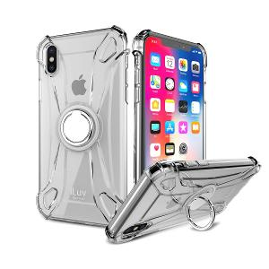 CASE FOR IPHONE X - iLUV CRYSTAL RING
