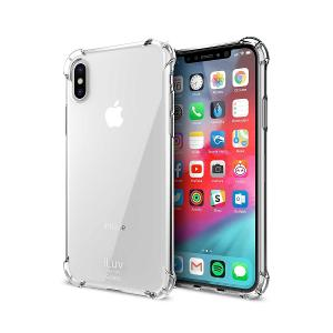 CASE FOR iPHONE X/XS - iLUV SOFT BACK COVER