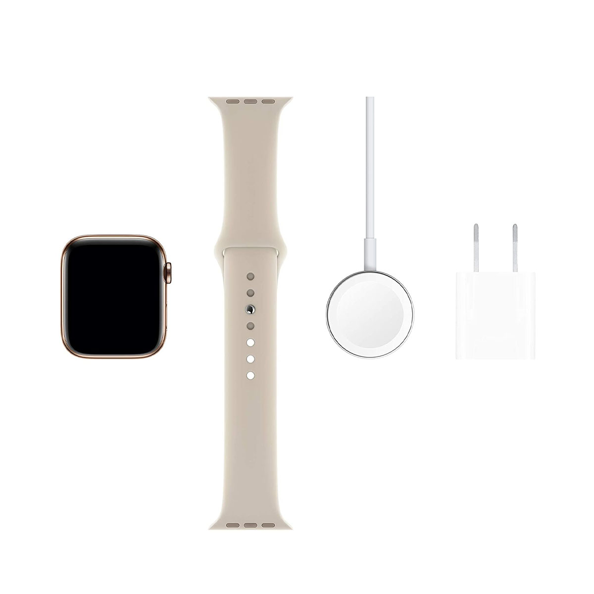 Apple Watch Series 5 Cellular 44mm Gold with Sports Band
