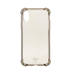 CASE  FOR IPHONE X/XS - ILUV SOFT FLEXIBLE BACK COVER